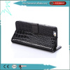 Wallet Style Magnetic Flip Crocodile Pattern Leather Case for iphone 6 plus
