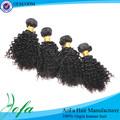 corta longitud de la mejor calidad al por mayor pelo rizado rizado weavon