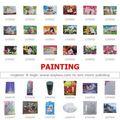 Deniz hayvanları boyama resimleri: tek noktadan çin kaynaklı: Türük pazar tekne ve boya
