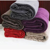 Super soft new thickness various solid coral fleece blanket