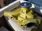 pc200-5 excavator engine parts water pump 6206-61-1103,water pump for engine 4D95.construction machinery parts