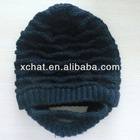 knit cap and hat crochet beard beanie