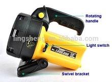rechargeable projector halogen light spotlight/outdoor light