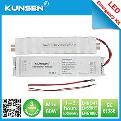 Factory offer energy hot ce t8 emergency kit for led tube