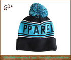 Custom acrylic pom knitted hat beanie