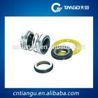 Industrial pump shaft mechanical seal