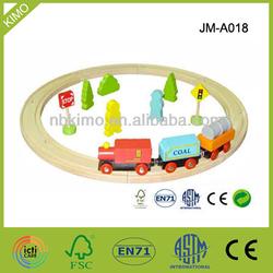 JM A018 Wooden Train Track