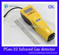 ch4 alarma del detector de gas portátil la comprobación de metano