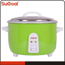 Green Color Stainless Steel Inner Pot Rice Cooker Colourful