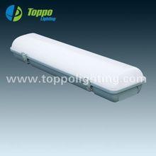 Garage/workshop/warehouse/platform IP65 Tri-proof LED light 1200mm 40W 100-110LM/W