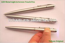 Bon prix promotionnel stylo détecteur d'argent