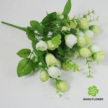 flores decorativas de tela hacer arreglos de flores artificiales