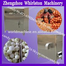 2014 hot selling taking off onion skin peeled white onion