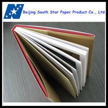 custom design hard cover book/photo album printing