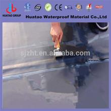 Polyurethane membrane waterproofing with fiberglass base
