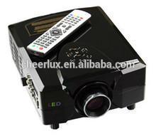 Big Image Size 2200 Lumens 800*600 Resolution Analog/Digital TV Projector