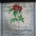 de alta calidad de la flor de jacquard tapiz japonés
