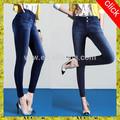 Dernière jeans dame de gros en chine/grande taille femme double- poitrine élastique jean, pas chers chine vêtements en gros