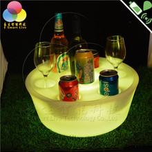 Customized promotional inflatable wine holder, inflatable floating holder/leds