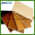 alta qualidade de alta resistência decorativos de parede impermeável mdf