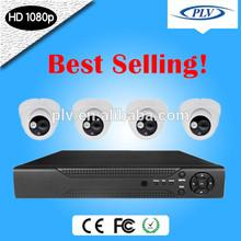 Best Selling! 4Channel Economical Indoor 1080P HD IP CCTV Surveillance Camera Set