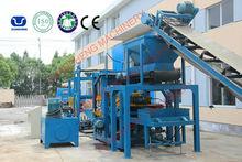 Production of Bricks and Blocks red Block Making Machine Line from Shanghai