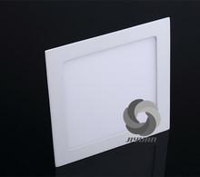 Higher lumen Chips zhongshan 12W led panel light price warranty