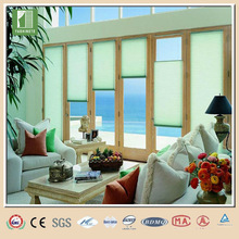 High-grade office or home lace pleated shades fabric