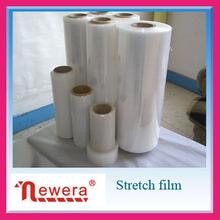 La prima de grado claro jumbo roll pallet stretch film
