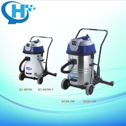 Sea Clean60L wet and dry Home Cleaning Stainless Steel Vacuum Cleaner