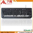 USB port keyboard for laptop