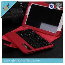 Wireless Bluetooth Keyboard Case for Samsung N5100 Leather Bluetooth Keyboard Case