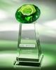 Wholesale Crystal diamond shape trophy award