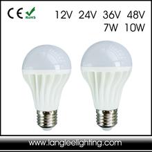 Low Volt 12V 24V 36V 48V For Marine or Solar Use E27 LED Light Bulb