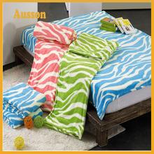 hot sale fleece extra soft custom design blanket home textile