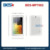 Delicate colors MTK8312 with sim card slot built-in 3g 2g gsm tablet