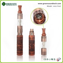 Classical wood sculpture design Mini fire I super vapor electronic cigarette with electronic cigarette price