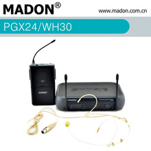 PGX24/WH30 single UHF PLL wireless headset microphone system