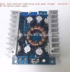 boost buck converter stabilizing solar panel voltage/ led driver / DC 12V battery power supply