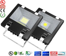 CE RoHS UL CUL DLC certification 3-5 years warranty waterproof meanwell 100w led flood light