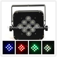 P14C- LED 9*4IN1 10W Wireless Flat Par Light