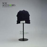 boys navy knit beanie hats