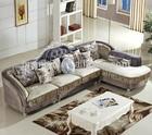 Cloth living room sofa set, Wood frame corner sofa, Post-modern sectional sofa set (BF01-X1014)
