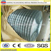 good price heavy gauge galvanized 1/4 inch welded wire mesh panel (ISO 9001)
