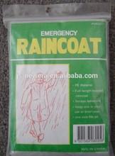 PE Rain coat,Direct factory/Manufactory supply
