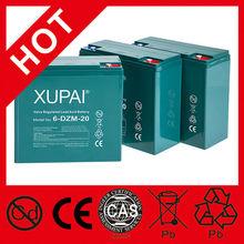 XUPAI E-rickshaw/E-bike/Scooter/Golf/Wheelchair Lead Acid Battery/vrla Battery 12V 20AH 6-DZM-20 Weight:7kg 180*76*170mm