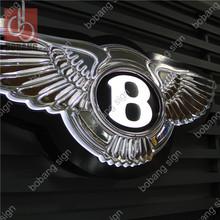 Factory Custom Outdoor or indoor Chrome Car Badge / ABS Car badge