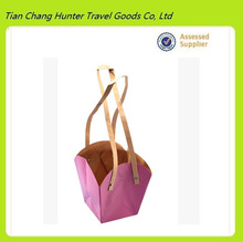 China Supplier Large pink kraft paper bag for gifts