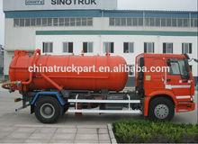nova condição de vácuo 8m3 caminhãodesucçãodeáguadeesgoto para venda quente