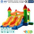 gigantes inflables gorila castillo hinchable de salto moonwalk con tobogán para los niños